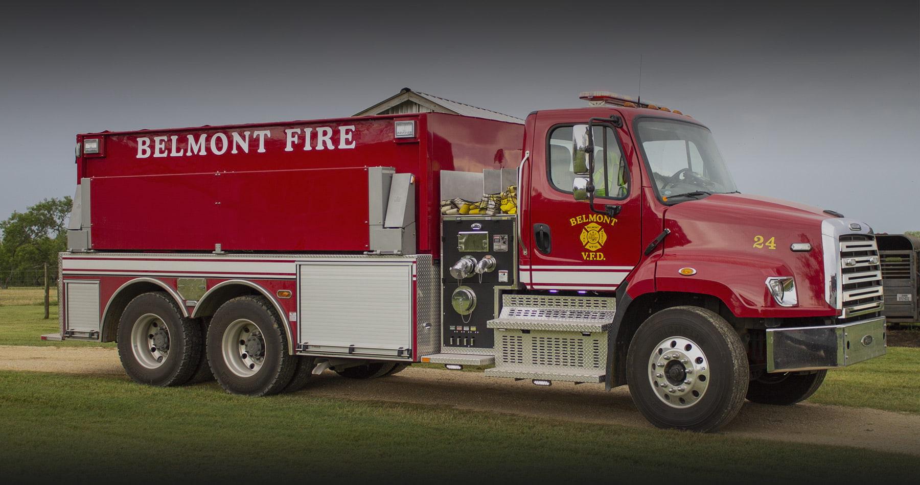 Belmont VFD fire truck