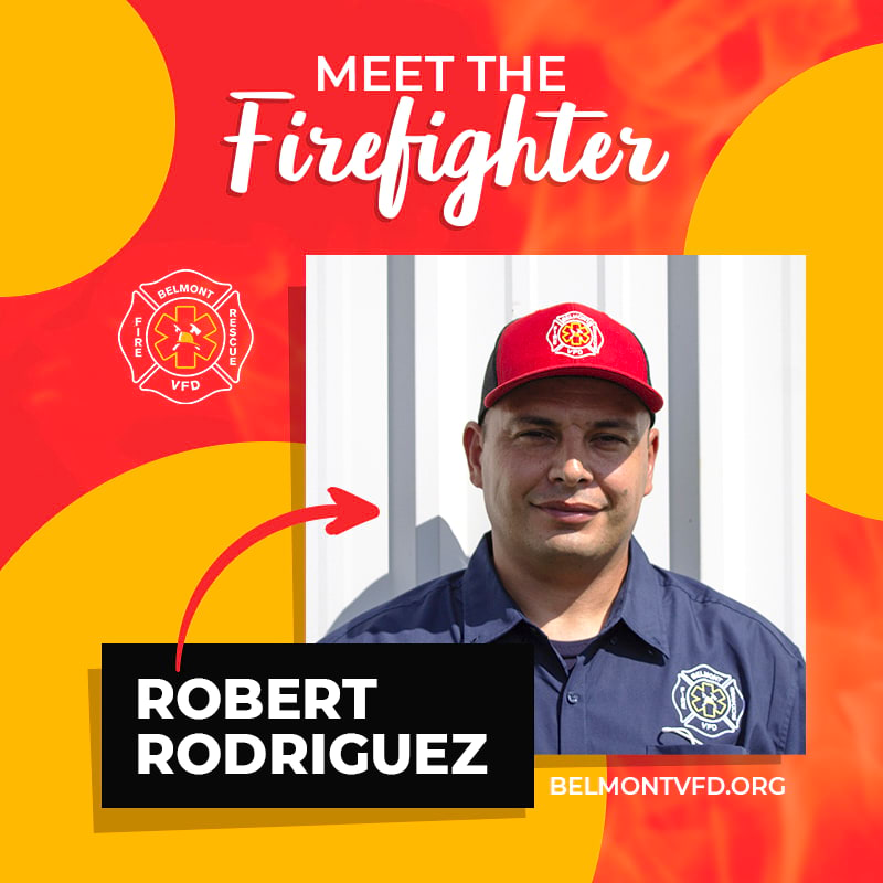Meet The Firefighter - Robert Rodriguez