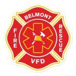 Belmont VFD Sticker
