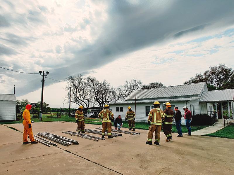 Belmont Fire Academy - Ladders
