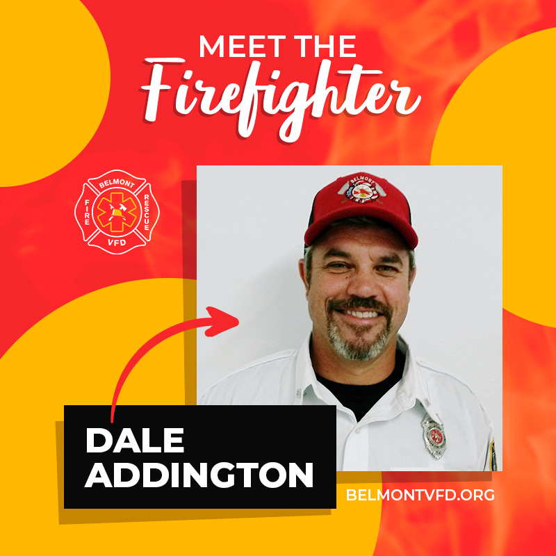 Meet The Firefighter - Dale Addington
