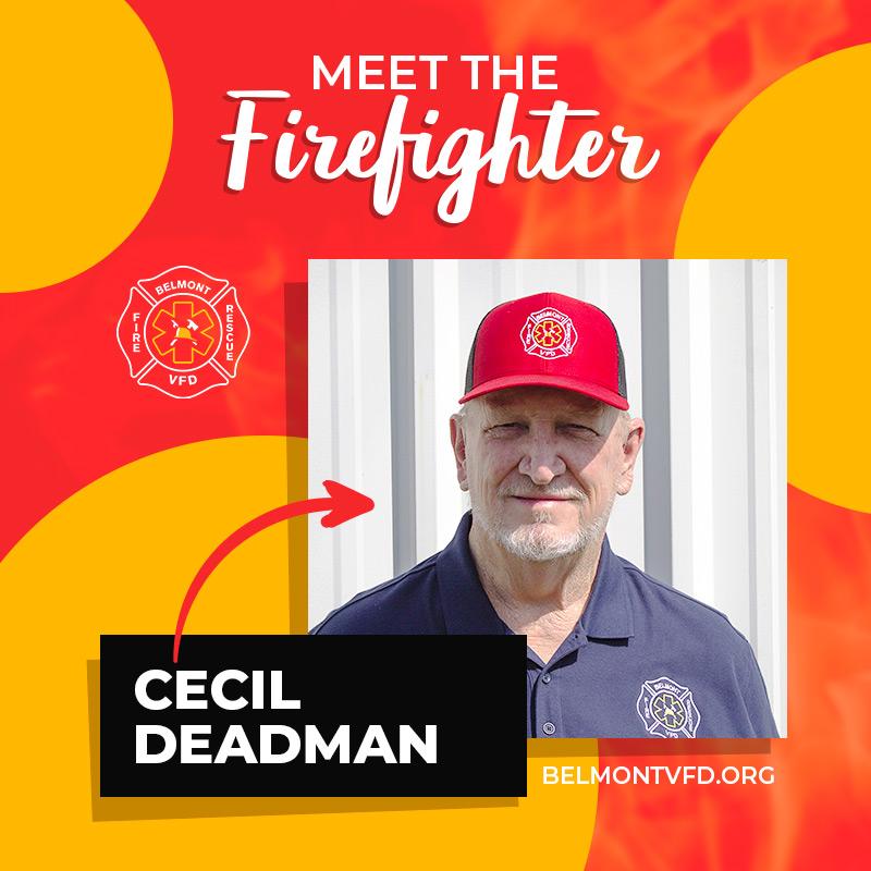 Cecil Deadman - Belmont Volunteer Fire Department