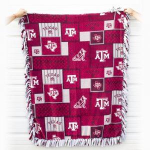 BVFD Auction Texas A&M Aggies Blanket