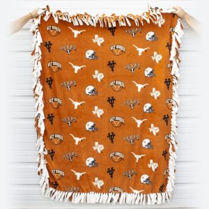 BVFD Auction UT Texas Longhorns Blanket
