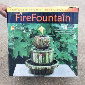 BVFD Auction Fire Fountain
