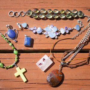 BVFD Auction Jewelry Bundle Semi Precious Stones 1