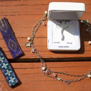 BVFD Auction Jewelry Bundle Diamond